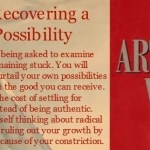The Artist's Way: Week 4 Recap/Starting Week 5