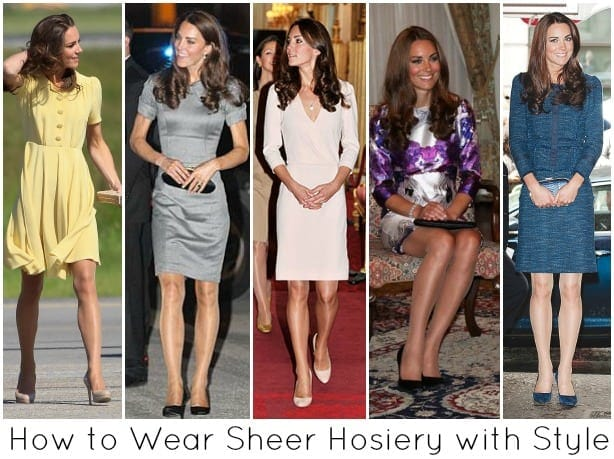 how to wear sheer hosiery pantyhose style fashionable