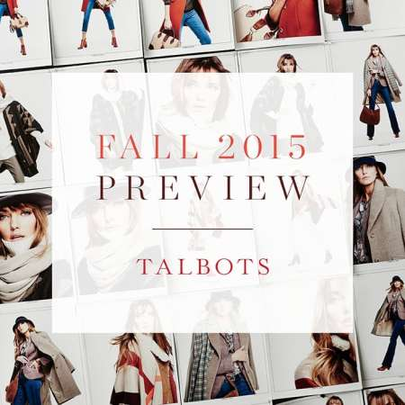 Talbots Fall 2015 Preview