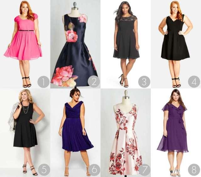 Plus Size Semi Formal Dresses Under $100