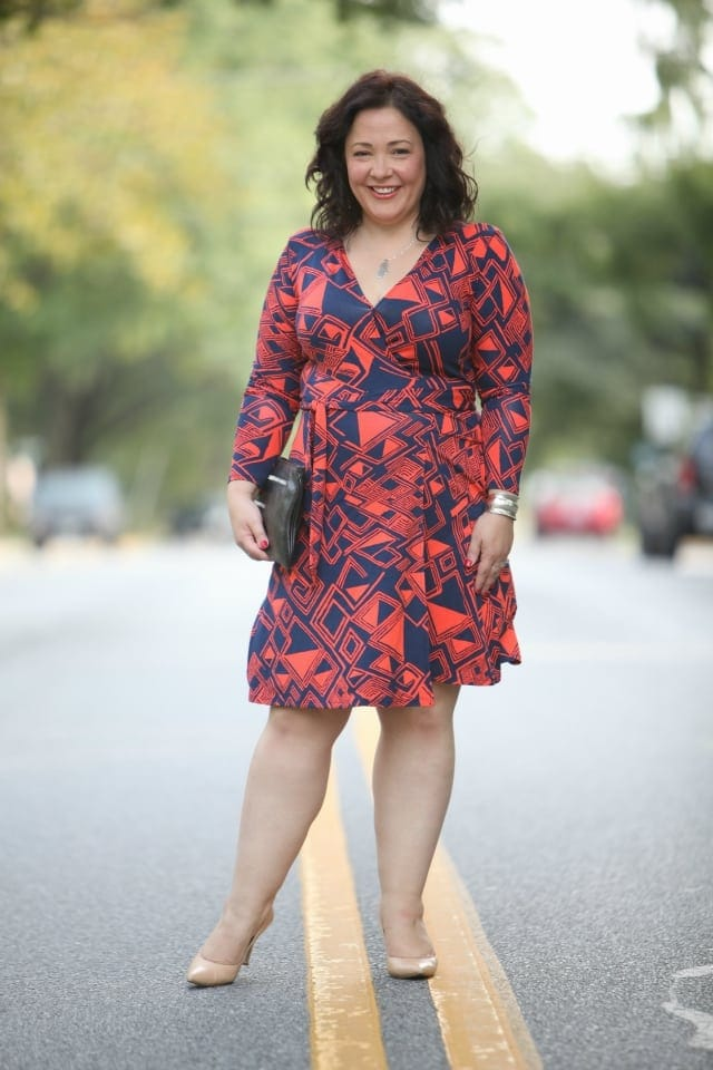 over 40 fashion blogger size 14