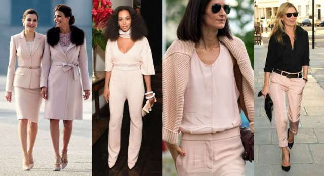 Blush Pink - Fashion Trend for Spring Summer 2017