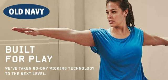 old navy plus size activewear
