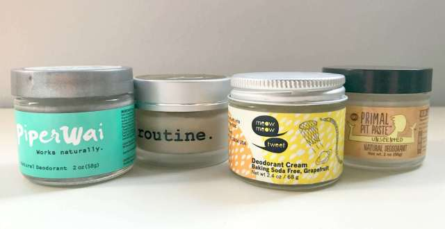 natural deodorant cream reviews - wardrobe oxygen