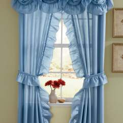 Teal Blue Living Room Curtains Lighting For A Vaulted Ceiling Draperies Panels Valances Montgomery Ward Mayfair Cape Cod Window Treatments