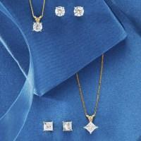 1/2 CT Diamond Stud Earrings   Montgomery Ward