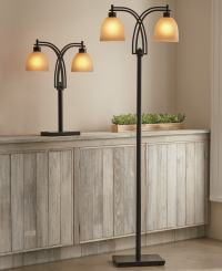 Two-Bulb Table and Floor Lamp | Montgomery Ward
