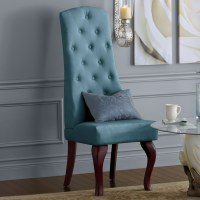 High-Back Tufted Chair | Montgomery Ward