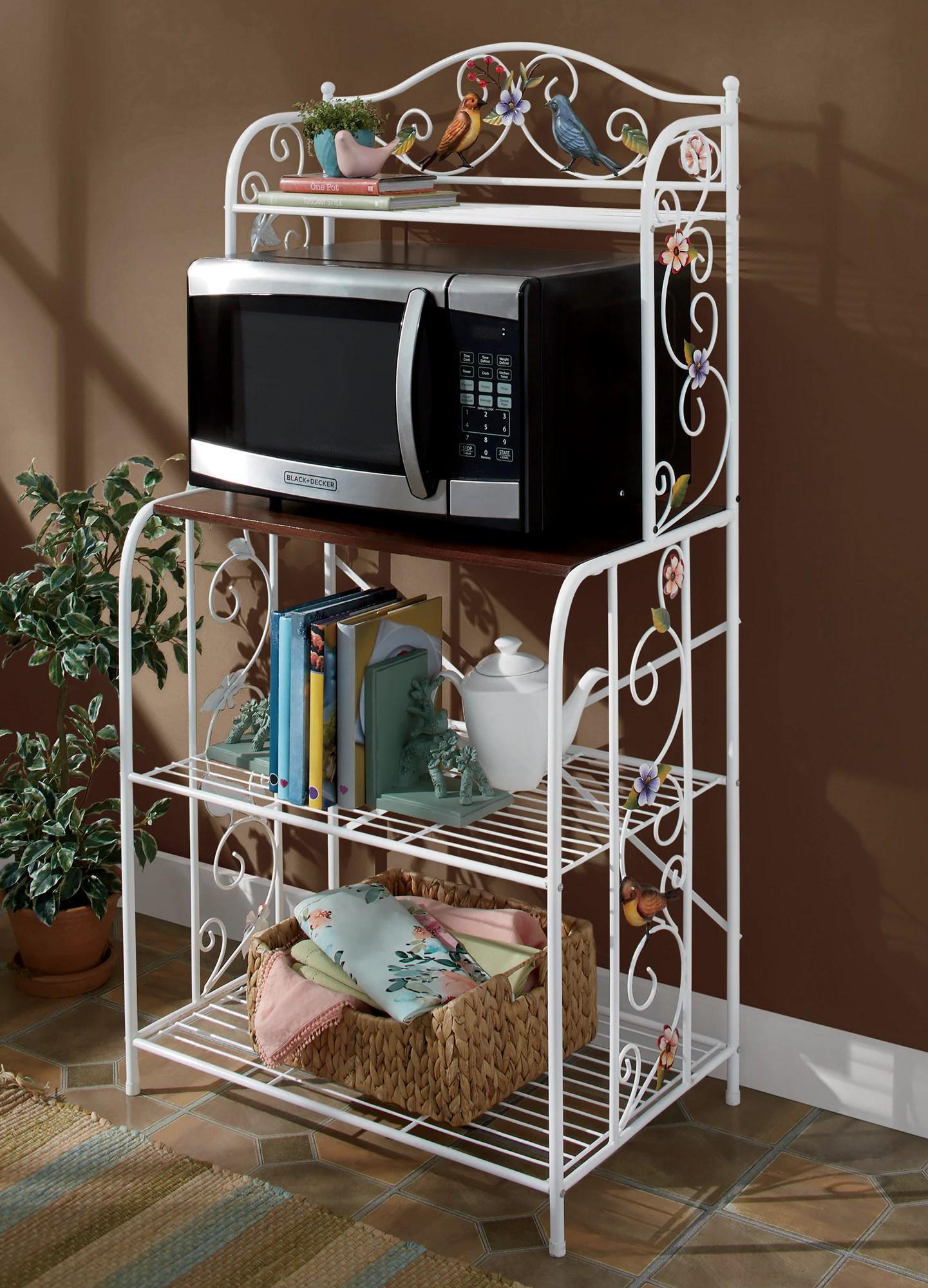 bird microwave stand