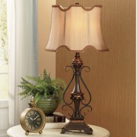 Scrolled Base Table Lamp | Montgomery Ward