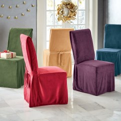 Christmas Chair Covers Ireland Velvet Dining Room Chairs Slipcovers Stretch Loveseat Sofa Montgomery Ward Devonshire Cover