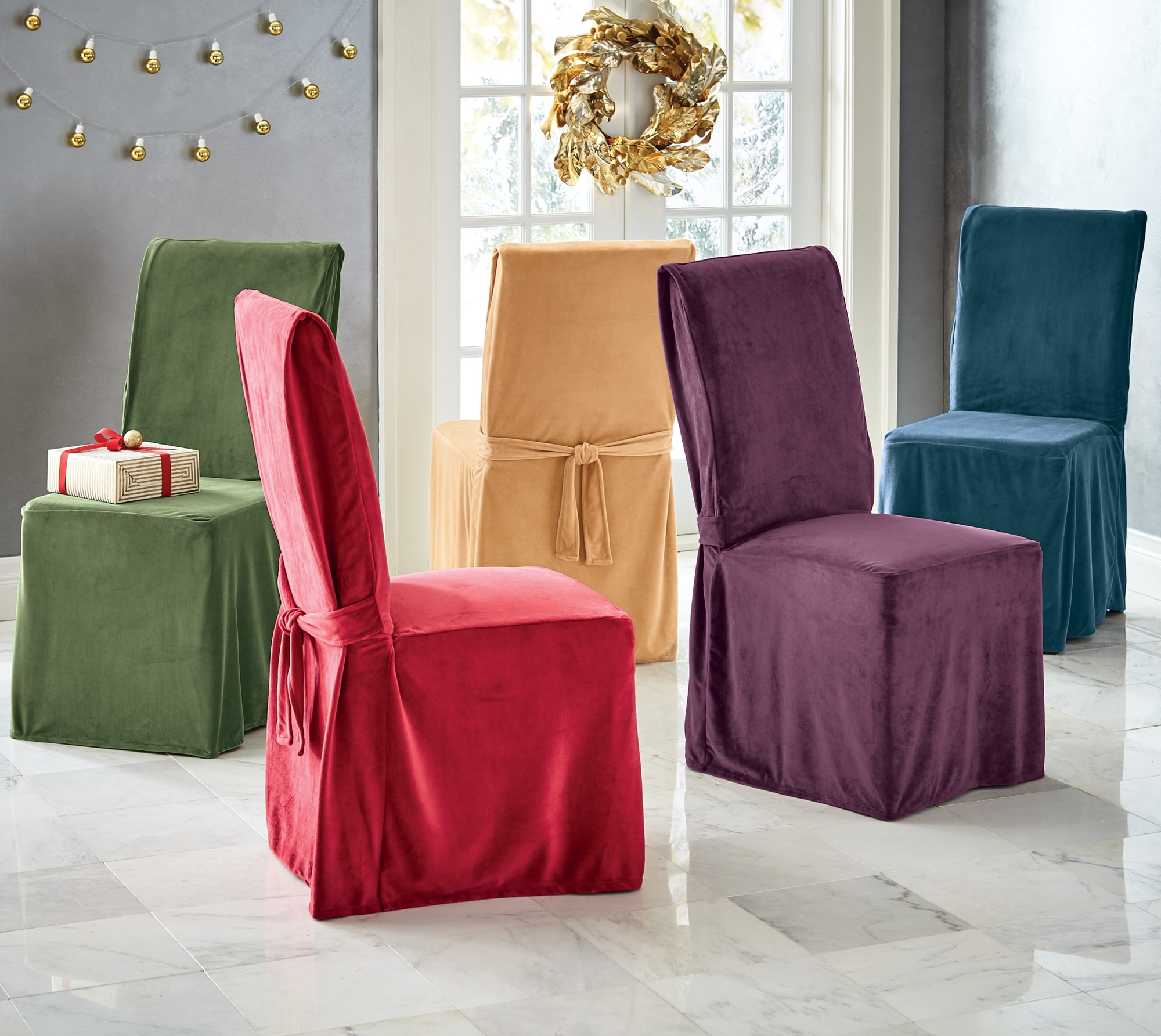 velvet chair covers wholesale china ikea mesh office devonshire dining cover montgomery ward