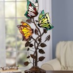 Butterfly Stained Glass Lamp Montgomery Ward