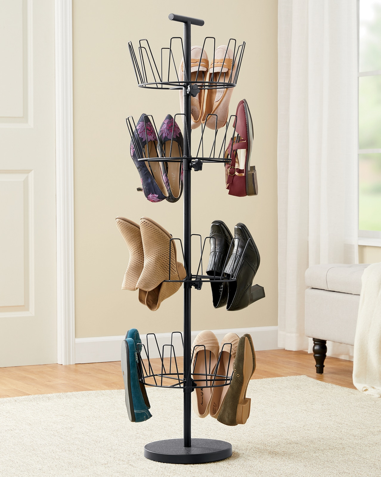 bedroom chair with skirt hammock swing hanging stand furniture sets on finance montgomery ward 4 tier swivel shoe rack