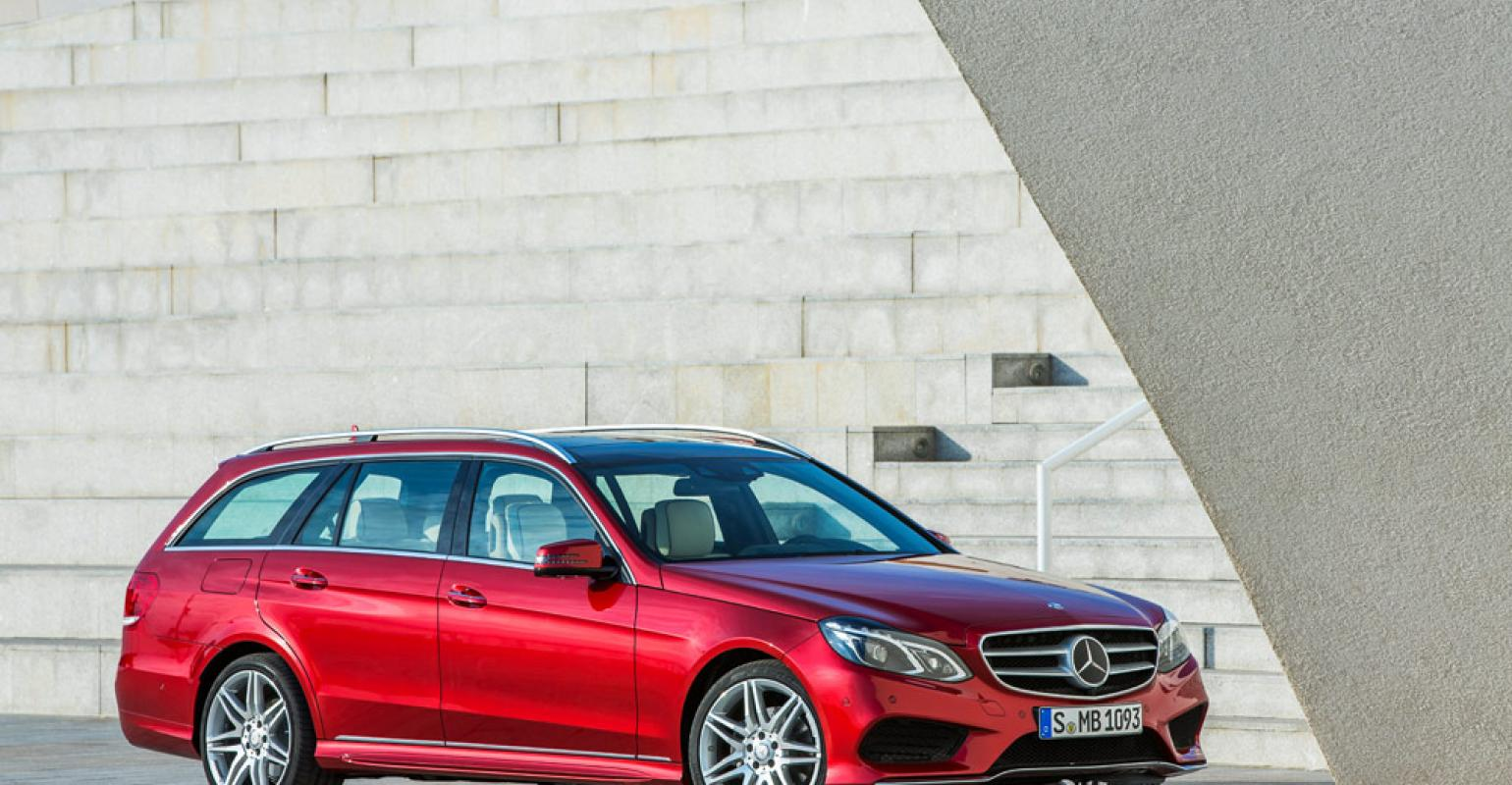 medium resolution of mercedes circles wagons with new e class