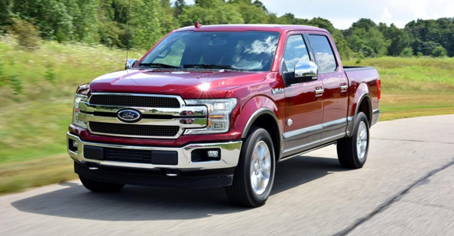 small resolution of f150 gets new front end but big news is under hood