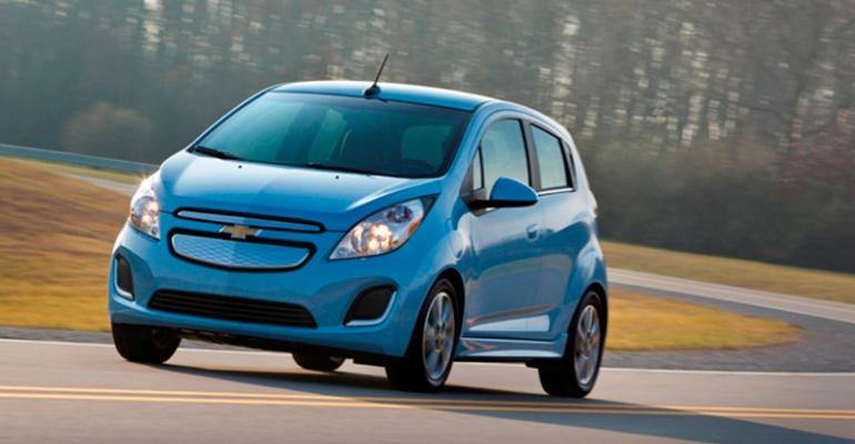 Chevrolet Allelectric Spark Ev To Enter Us Market