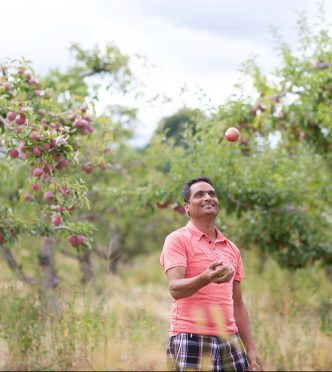 Jasvir Sidhu, Orchard Manager