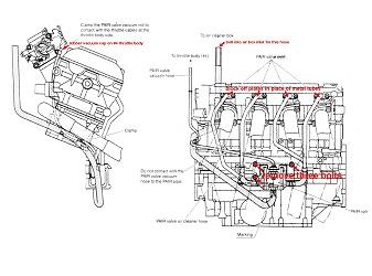 2000 Suzuki Hayabusa Modifications : PAIR Valve Removal