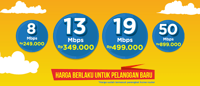 Tarif Internet Bolt Home
