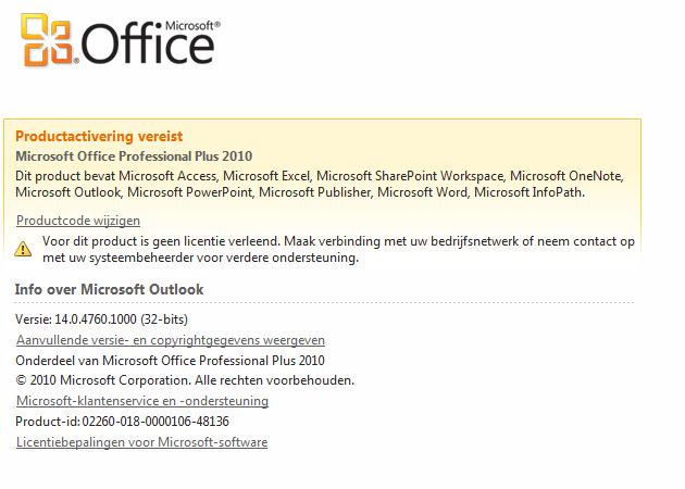 ms office professional plus 2010 activator