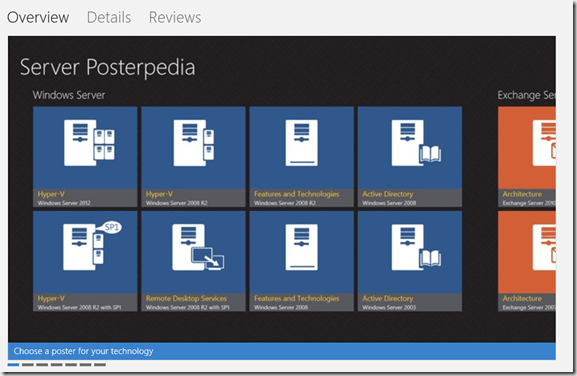 Windows 8 server posterpedia ward vissers for Windows 8 architecture
