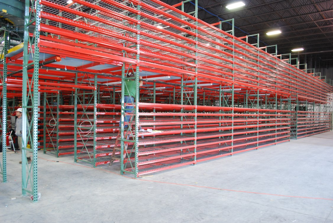 2 Level Rack Supported Mezzanine (2)