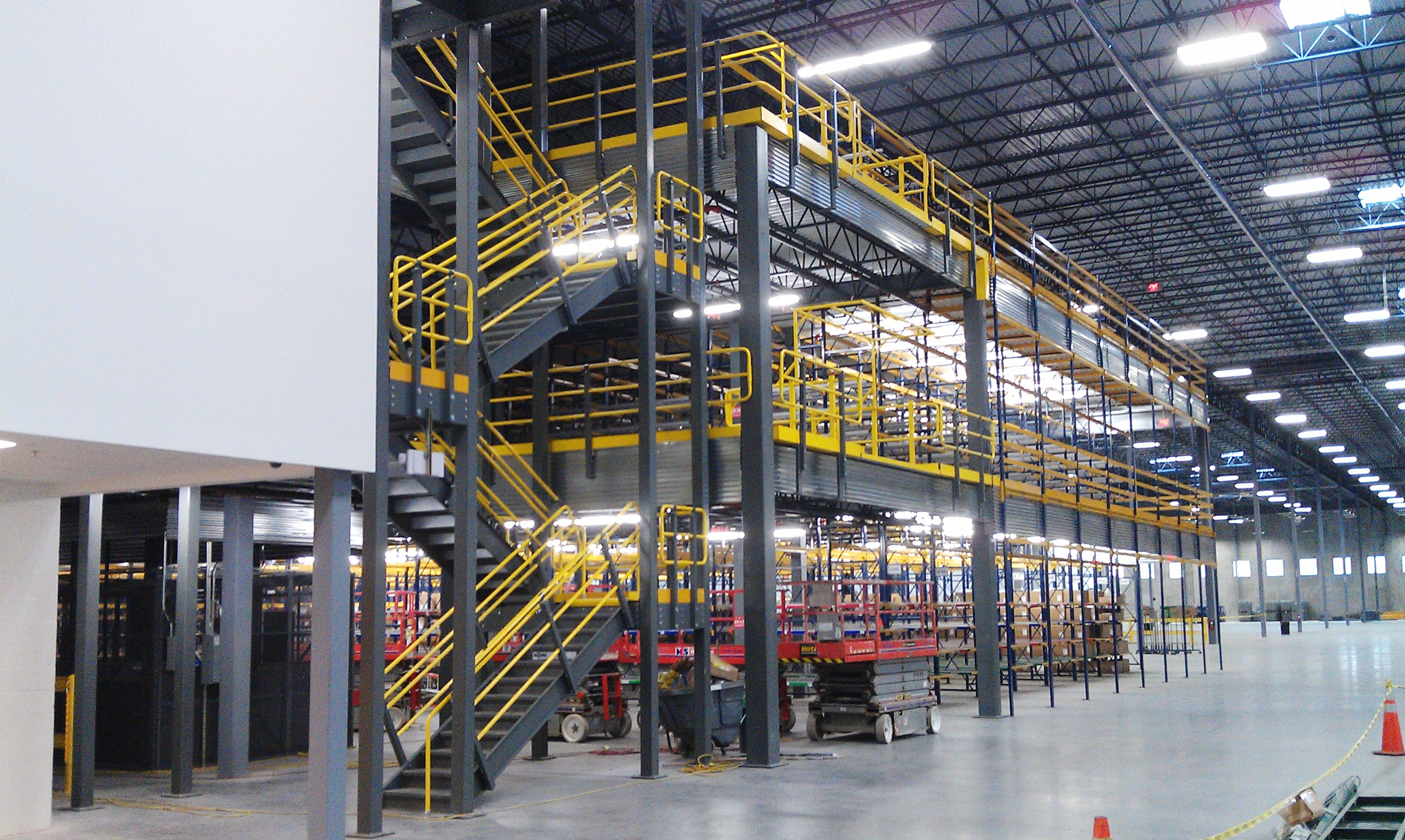Mezzanines Warehouse Design