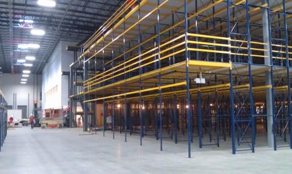 3 Level Rack Supported Mezzanine