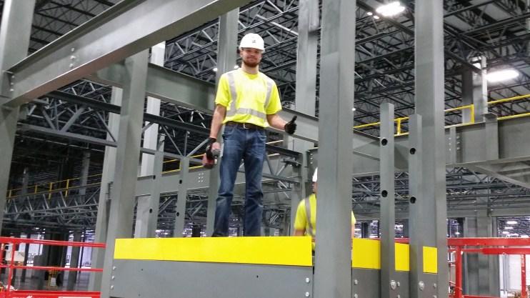 3 Level U-Shaped Stairway