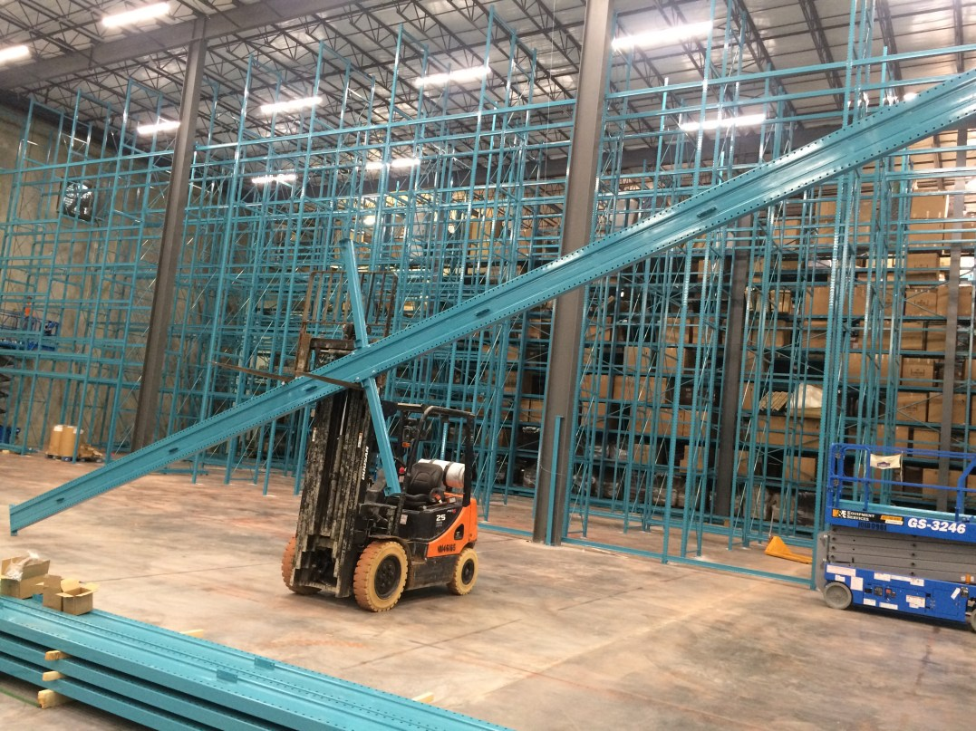 36' High Furniture Cantilever Rack (2)
