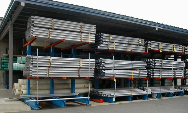 Cantilever Rack Pipe Storage