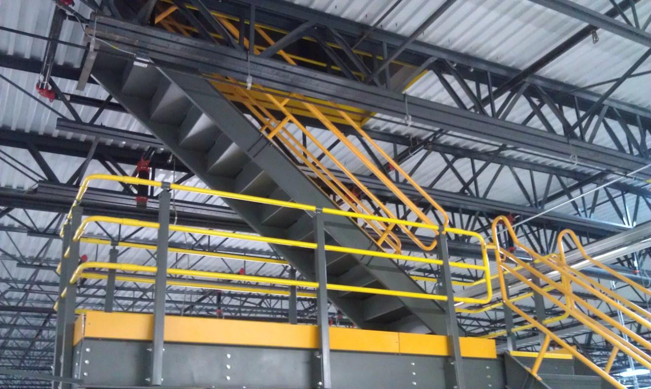 Custom Roof Access Stair