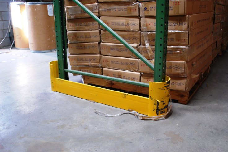 Floor Mounted Row End Guarding