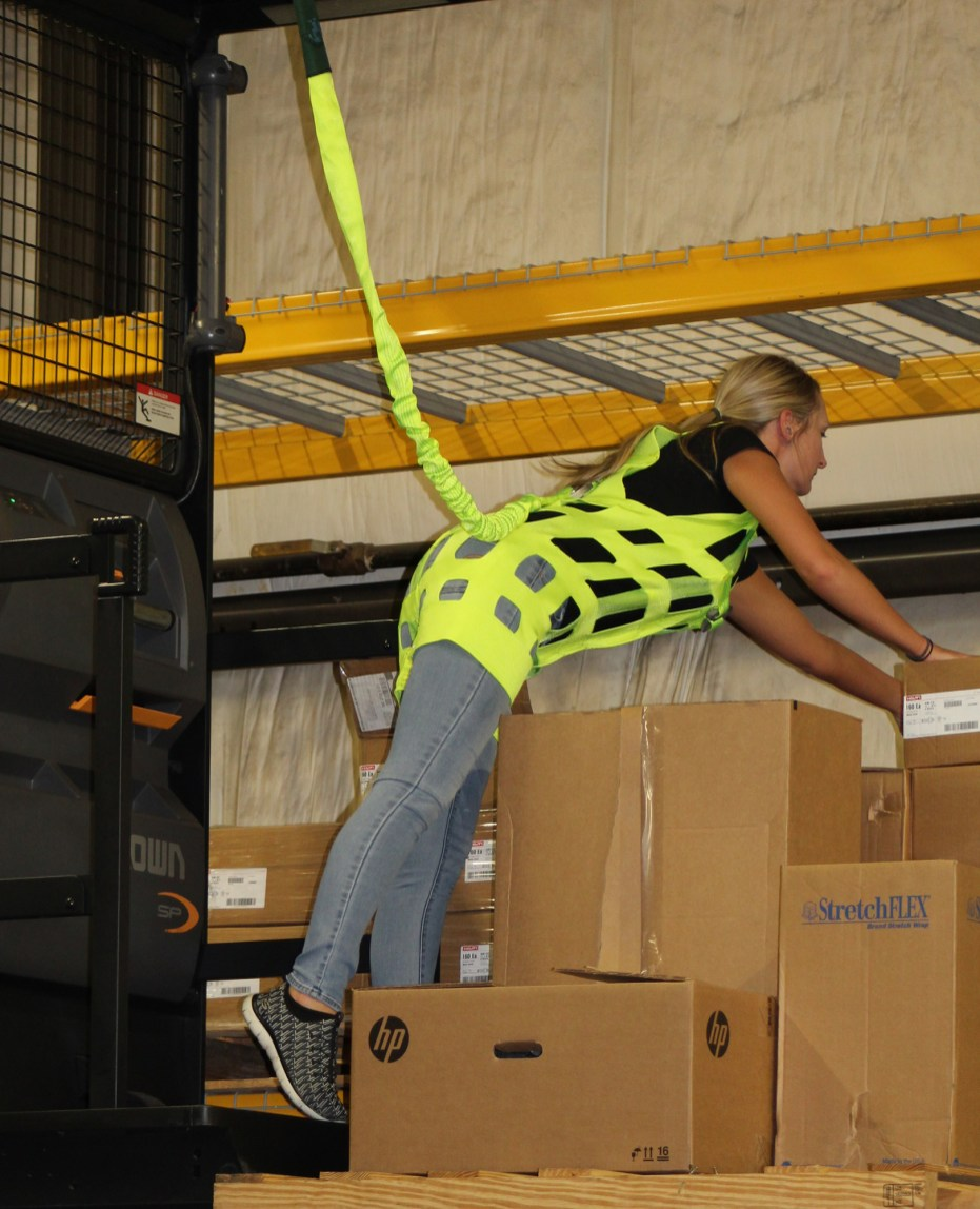 Women's Order Picker Safety Harness