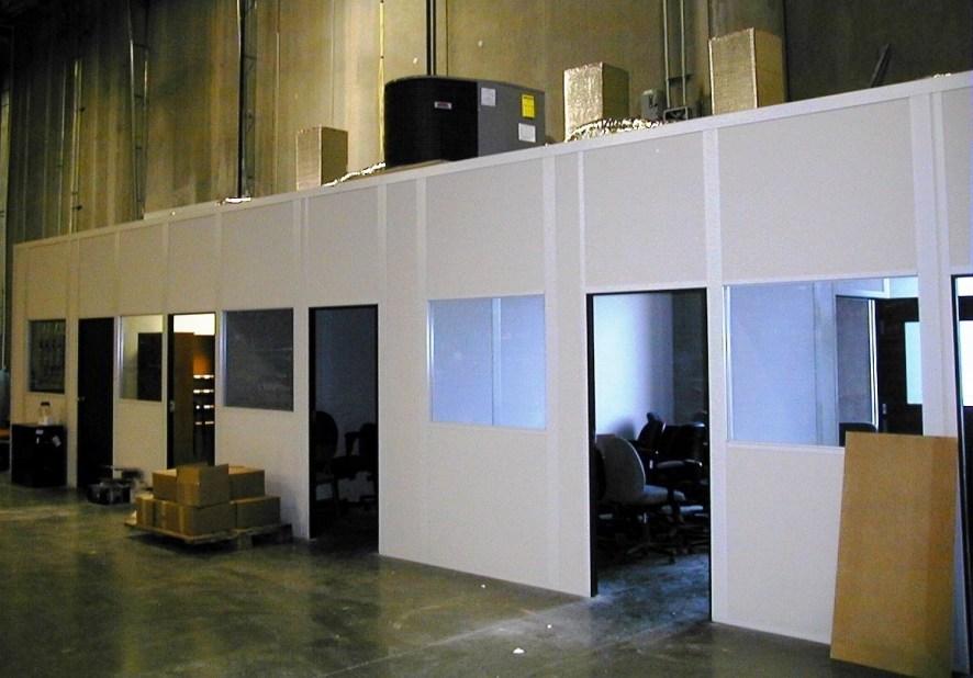 Multi-Room Modular Office