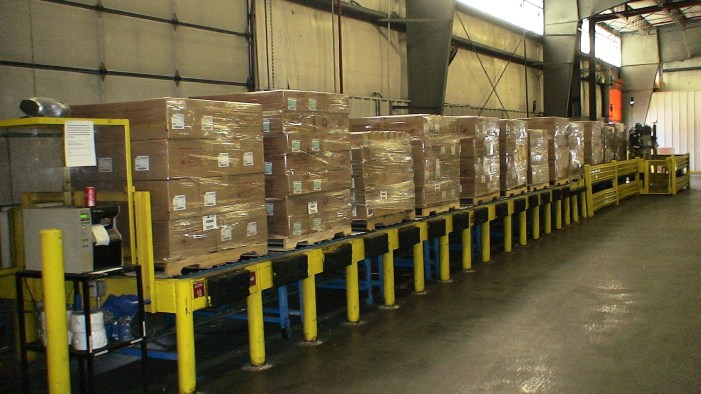 Pallet Staging and Unload
