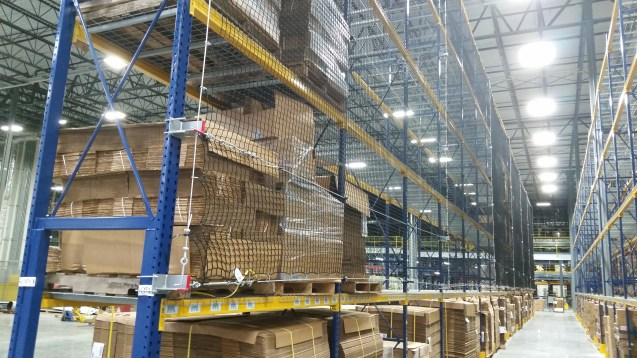 Safety Netting For Pallets