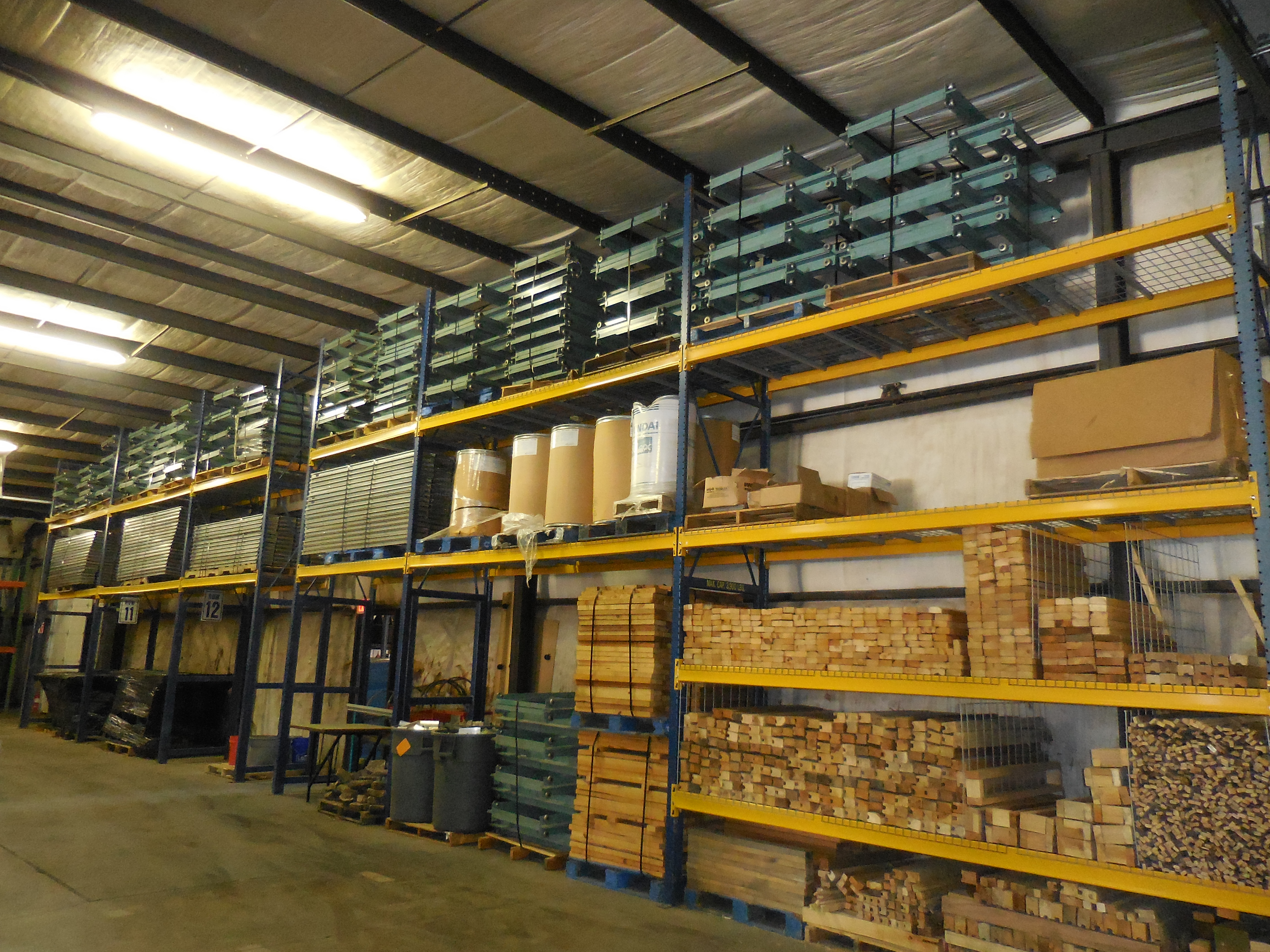 Our Facility Warehouse Design