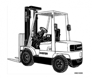 Forklift service manual for the Hyster Forklift Challenger
