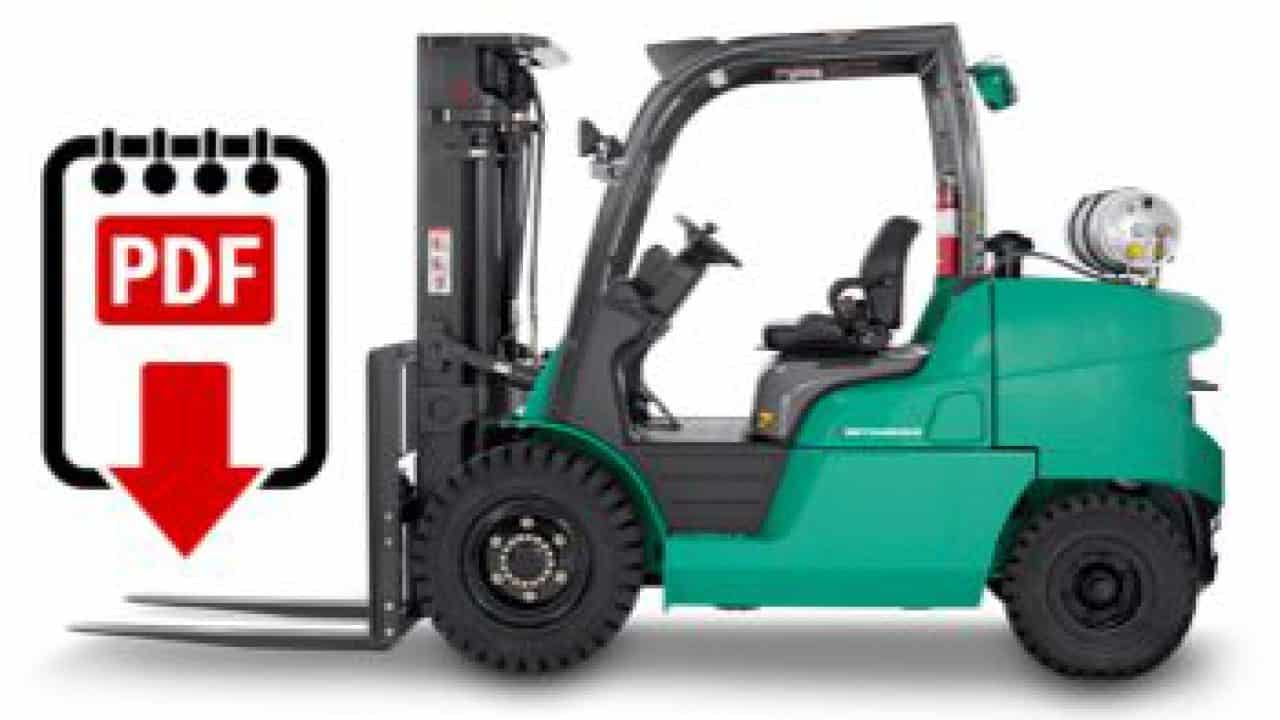 hight resolution of mitsubishi forklift service manual library download pdf forklift manuals you need