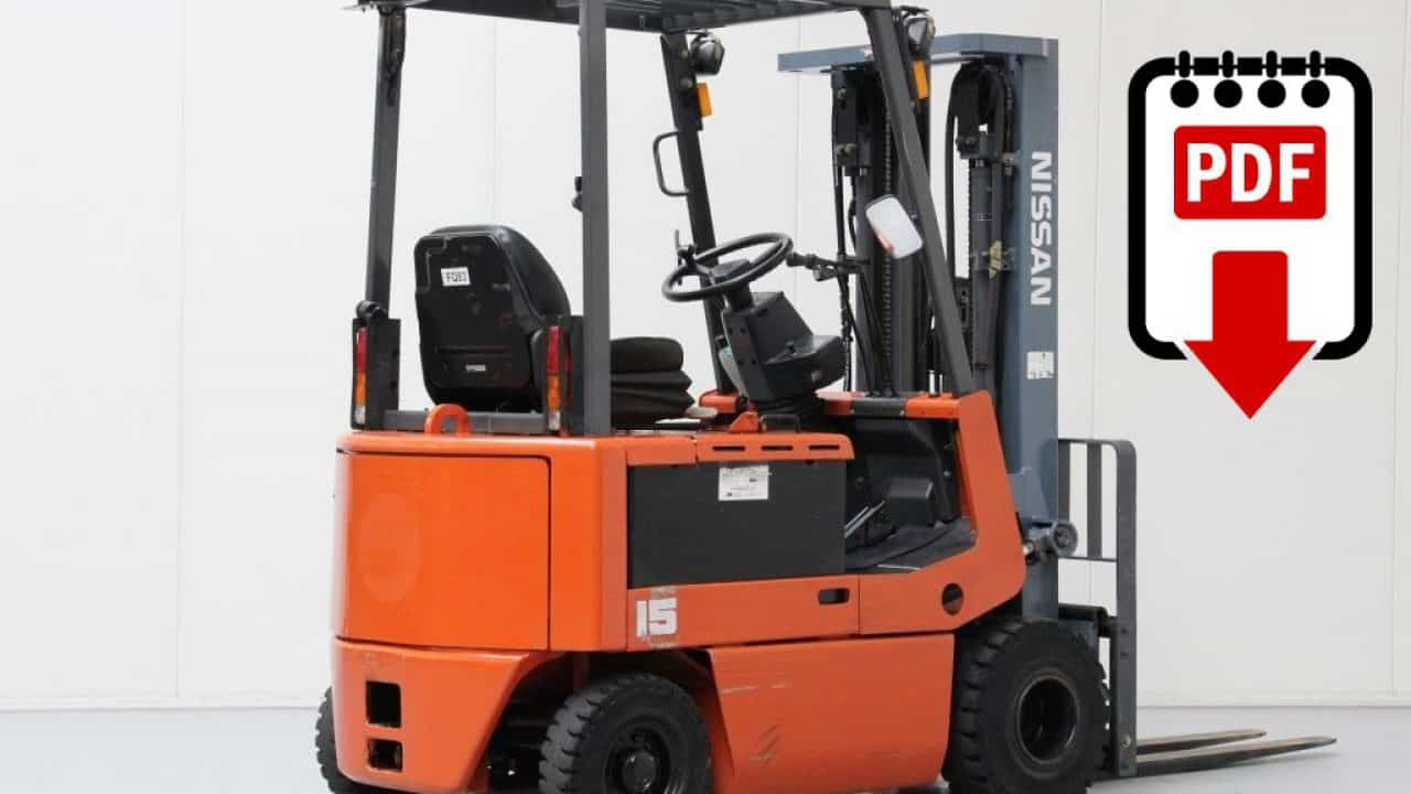 hight resolution of nissan p01 and p02 forklift service manual download pdf