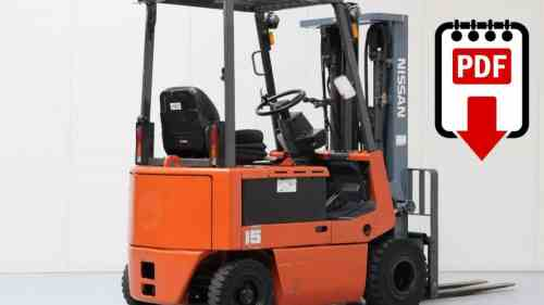 small resolution of nissan p01 and p02 forklift service manual download pdf