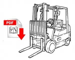 Toyota 7 Series Fork Lift Wiring Diagram. Toyota. Auto
