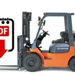 Clark Forklift Wiring Diagram 240v Capacitor Start Motor Diagrams Toyota Service Manual 7fgu15 Series | Download Pdfs Instantly