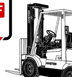 Hyster 65 Forklift Wiring Diagram - hyster h155xl manual