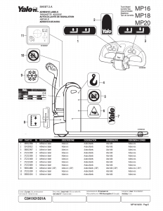 Yale forklift parts manuals | Download the PDF parts