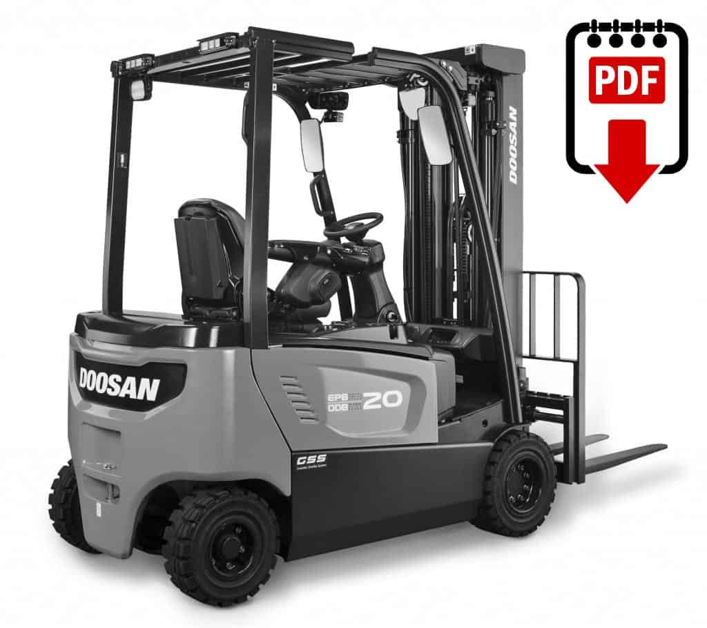hight resolution of daewoo doosan g35s 2 forklift parts and repair manual download pdf
