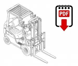 Caterpillar DP40K Forklift Operation and Repair Manual