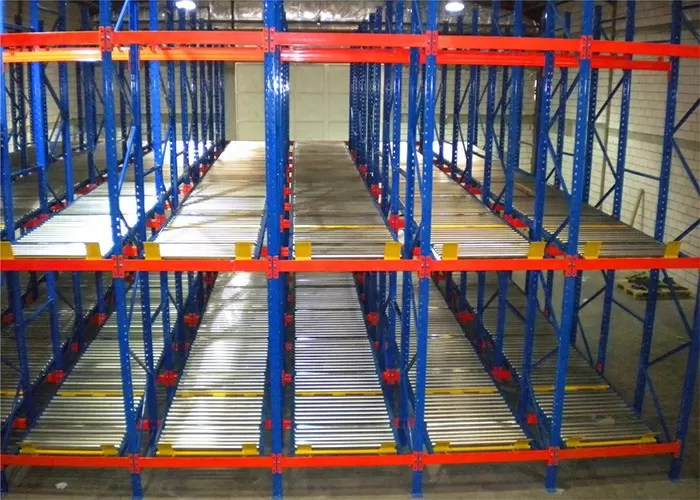 cold rolled q235b gravity flow pallet